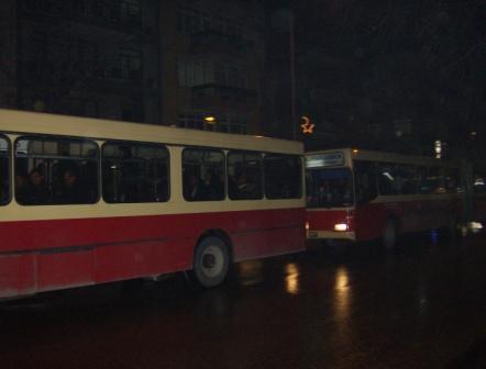 Busse in Izmir
