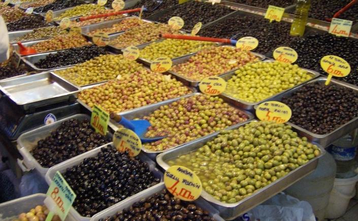 Obst und Gemüse in der Türkei - lecker
