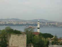 Istanbul- Ausblick von der Dachterrasse