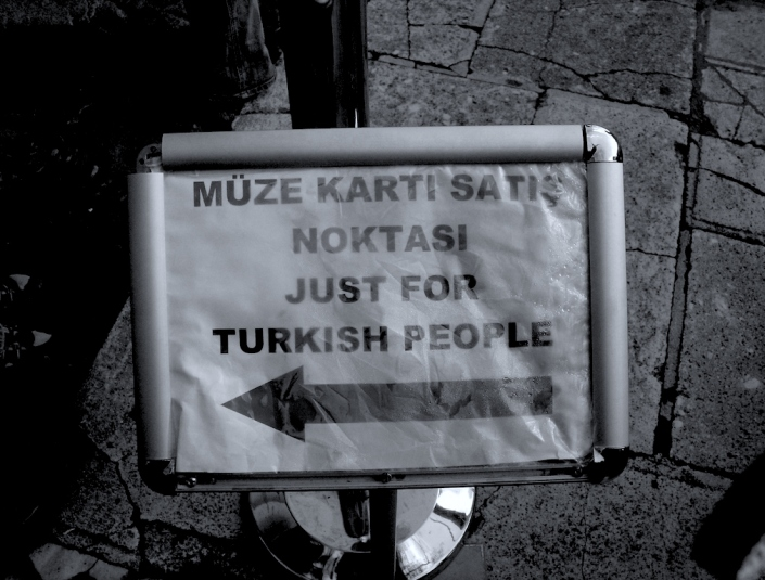 Istanbul: Just for turkish people