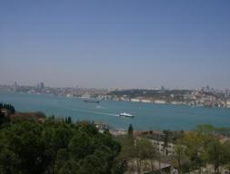 Ausblick von der Bosporus- Brücke