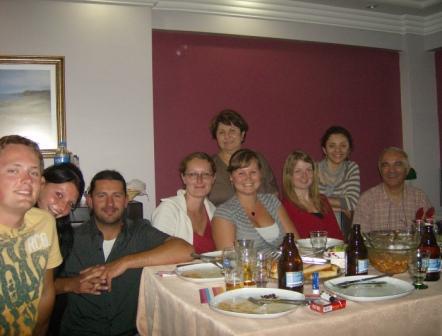 Erasmusstudenten zu Gast bei Rana