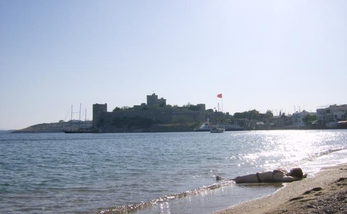 Strand in Bodrum