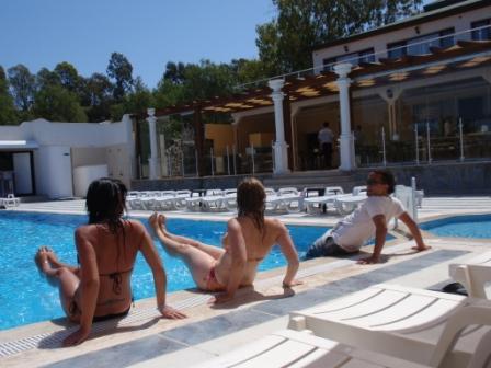 Studentenurlaub deluxe - Yalıkavak- 11. Mai - Wassergymnastik