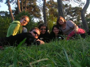 Picknick im Izmiraner Park 07. Mai