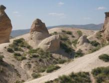 Fels in der Form eines Nilpferdkopfes