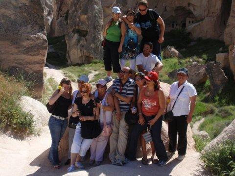Gruppenfoto in Zelve