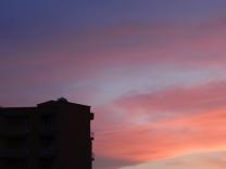 Sonnenuntergang in Izmir