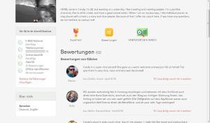 Mein Airbnb-Profil