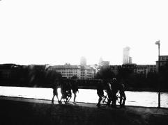 Frankfurt - Pause am Main