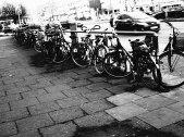 Hamburg - Fahrrad abstellen