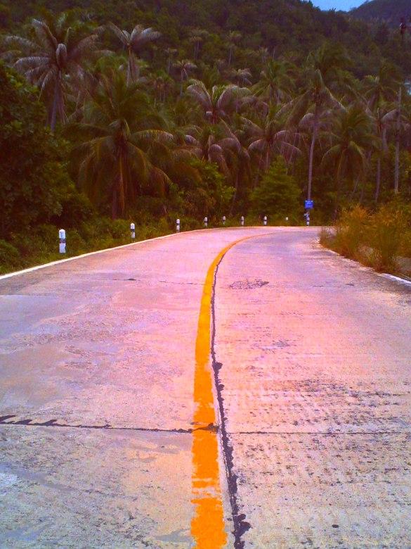 Ko Pha Ngan - Straßen