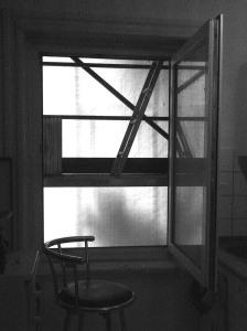 Ist das Kunst? Vielleicht auch! Vorrangig ist das mein Ausblick aus der Küche, aus dem Bad, aus dem Wohn- und Schlafzimmer...