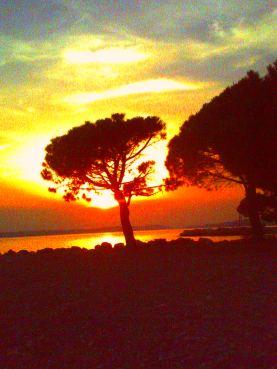 Kroatien - Crikvenica - Sonnenuntergang
