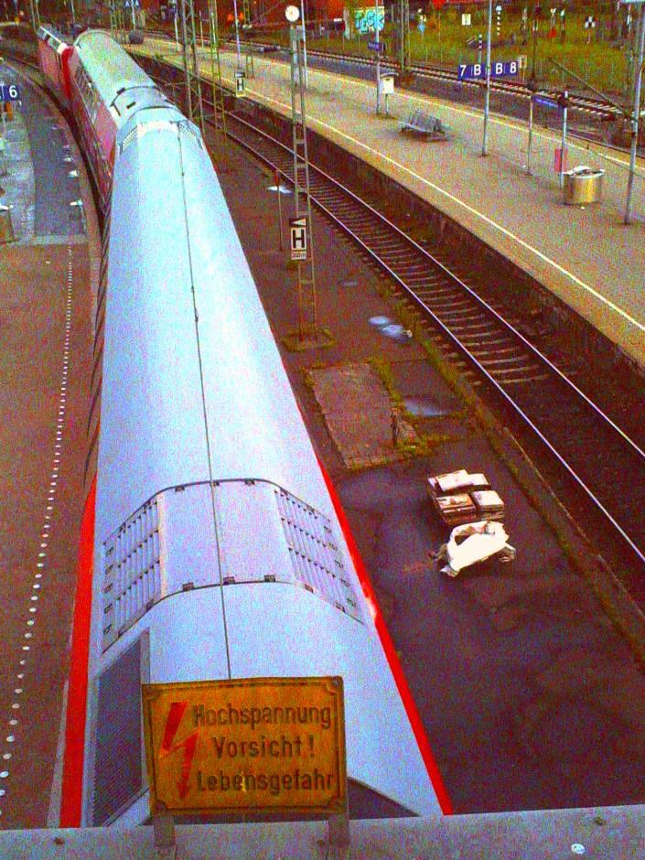 Lebensgefahr am Hamburger Hauptbahnhof