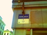 Brüssel - Henri Maus Straat - Fritland