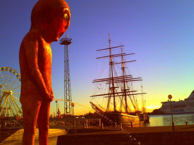 Helsinki: Manneken Pis