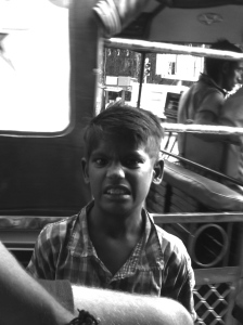 Straßenkind in Jaipur