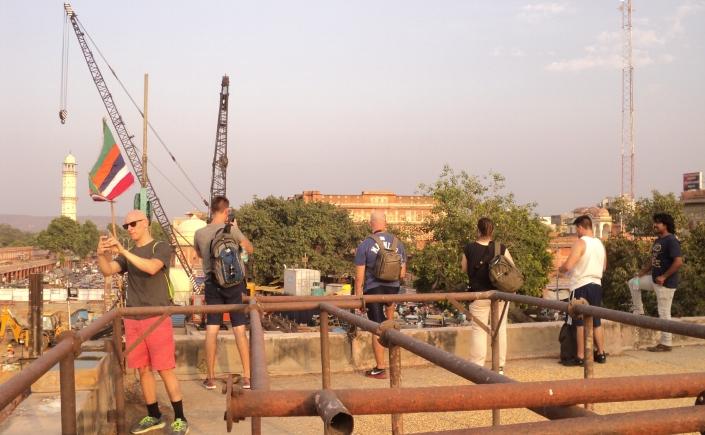 Reisegruppe in Jaipur