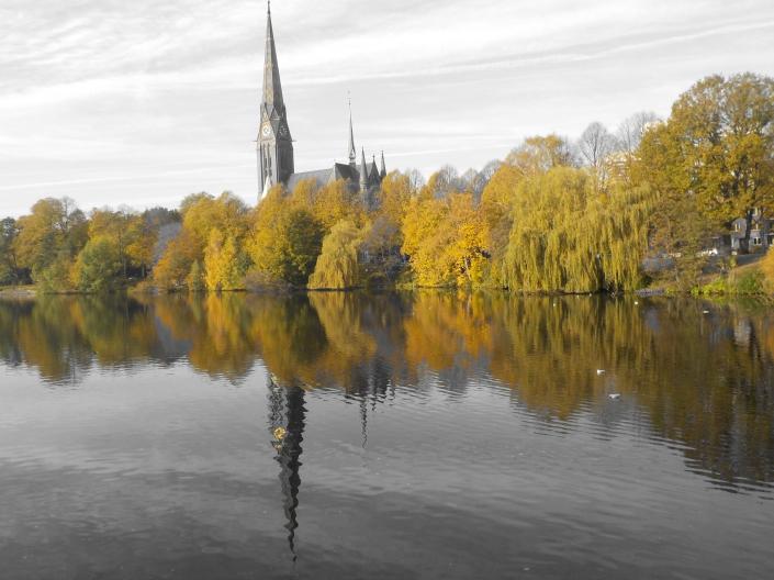 Herbstspaziergang in Hamburg