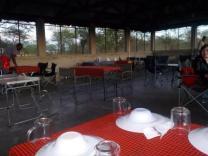 Essenshalle im Serengeti