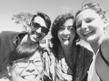 Tägliches Safari-Gruppen-Selfie