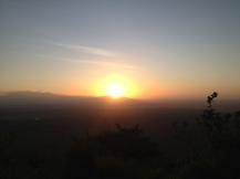 Sonnenaufgang auf dem Panorama Campsite