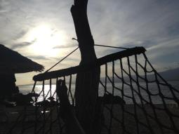 Hängemattenausblick vom Apo Island Beach Resort