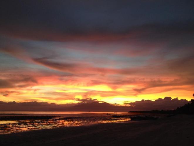 Sonnenuntergang auf Siquijor