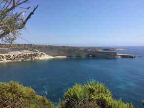 Auf dem Weg zum St. Peters Pool - Malta