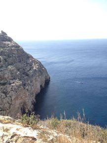 Aussichtsplattform bei der Blauen Grotte Malta
