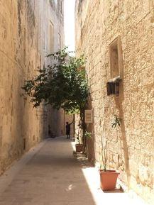 Gasse in Mdina Malta