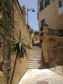 Il Birgu - Treppen überall - Malta