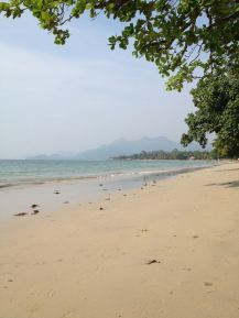 Leerer Kai Bae Beach