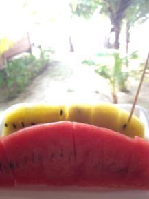 Melonen auf Koh Chang