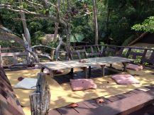 Restaurant am Ende des Kai Bae Beach