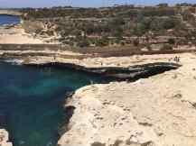 St. Peters Pool von oben - Malta