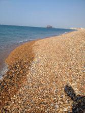 Am Strand in Brighton