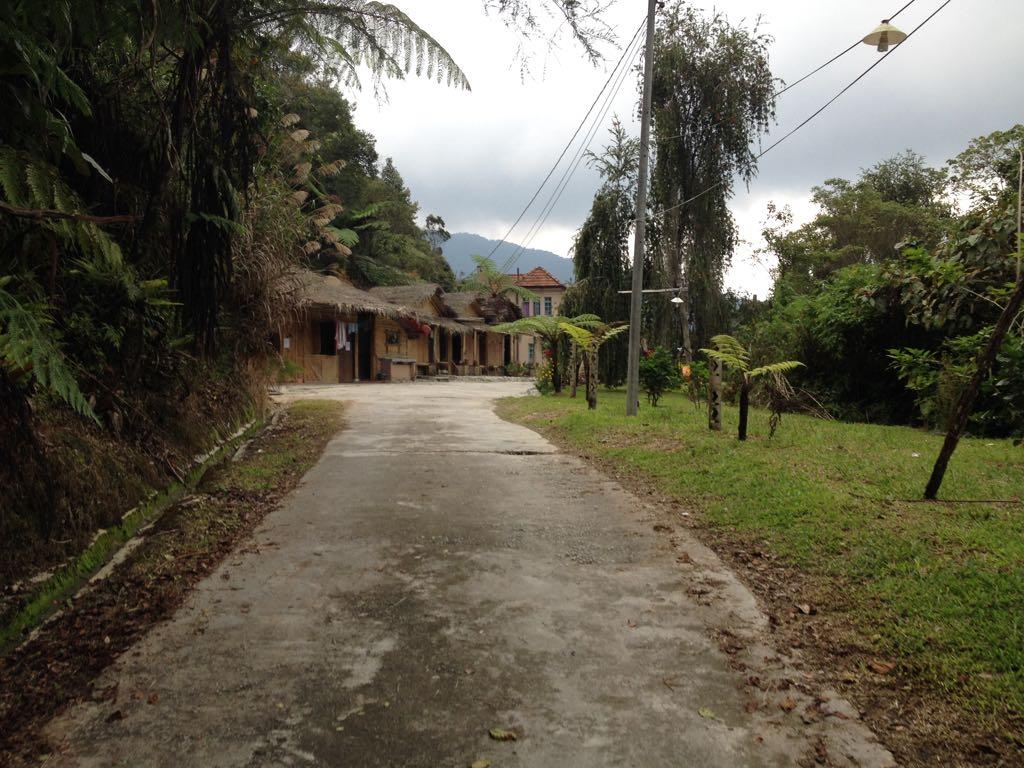 Das Hostel von Weitem