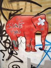 Elefant in Brighton