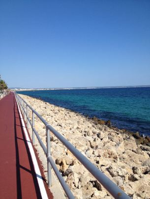 Fahrradweg Ballermann - Palma