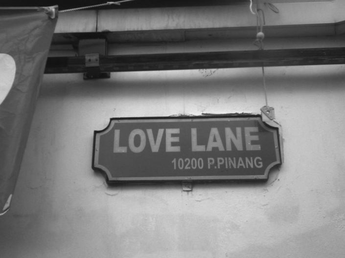 Love Lane in George Town