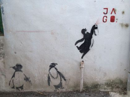 Pinguin Gang in George Town