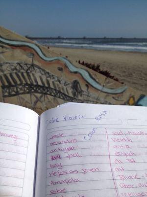 Am Strand Spanisch lernen