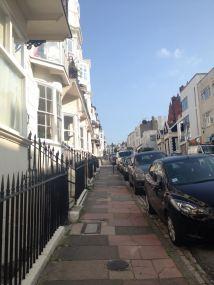 Straßenbild in Brighton