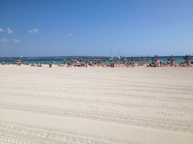 Strand am Ballermann