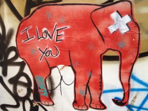 Streetart in Brighton